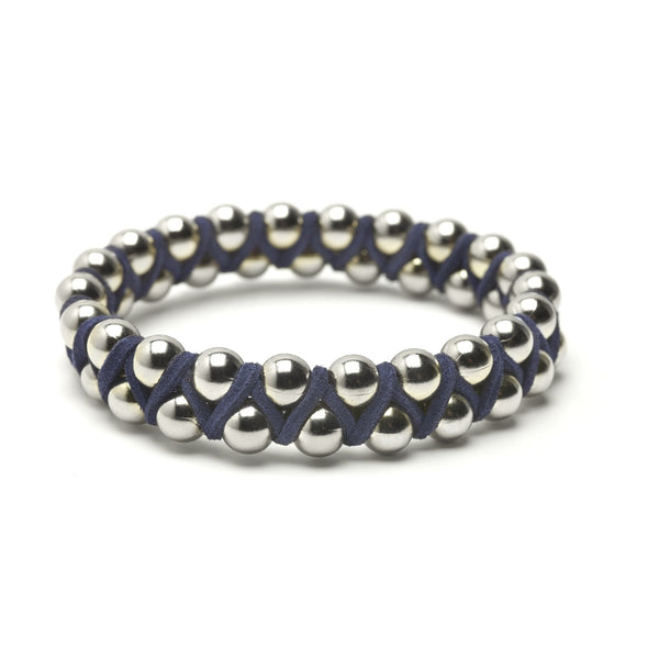Coco's Bangles - Large Silver Beads