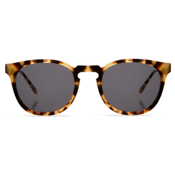 Eldridge Tortoise w/ Grey Flat Lenses