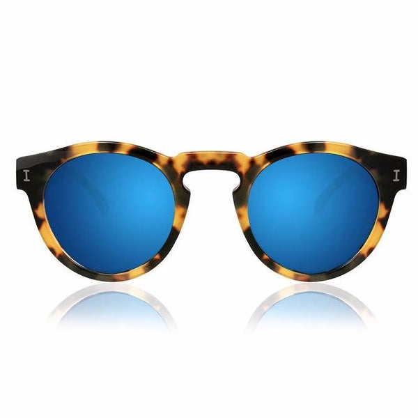 Leonard Tortoise w/Blue Mirrored Lens