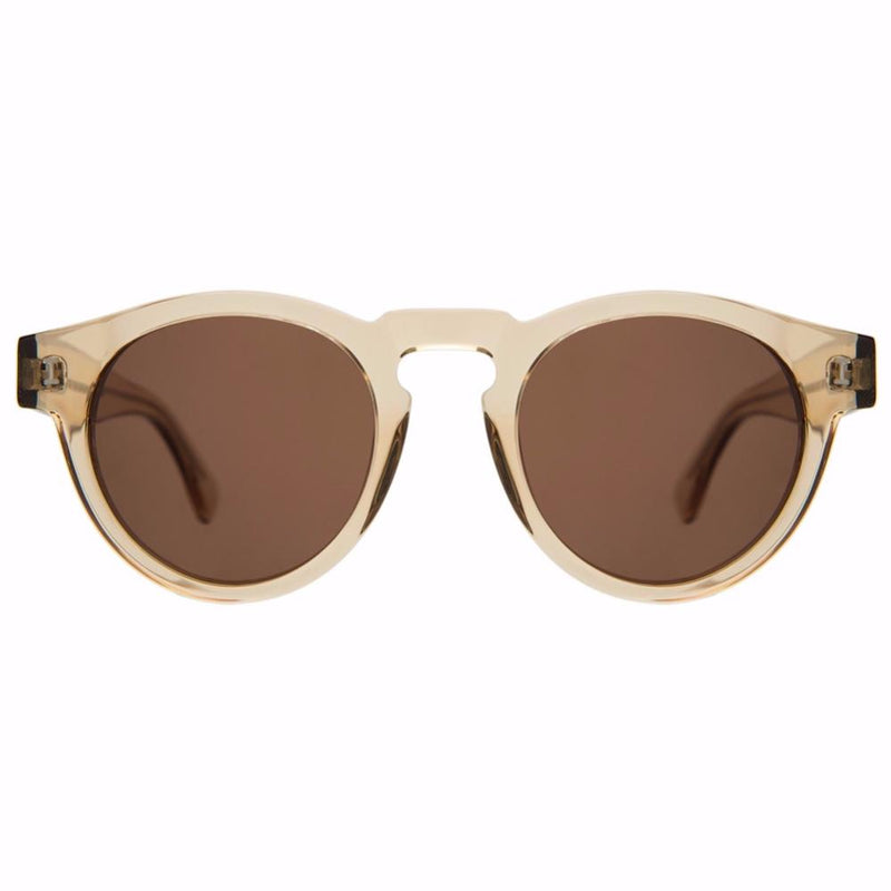 Leonard Citrine w/Brown Lenses