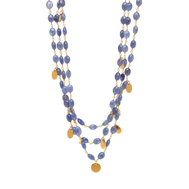 Layers of GRACE Tanzanite  Necklace