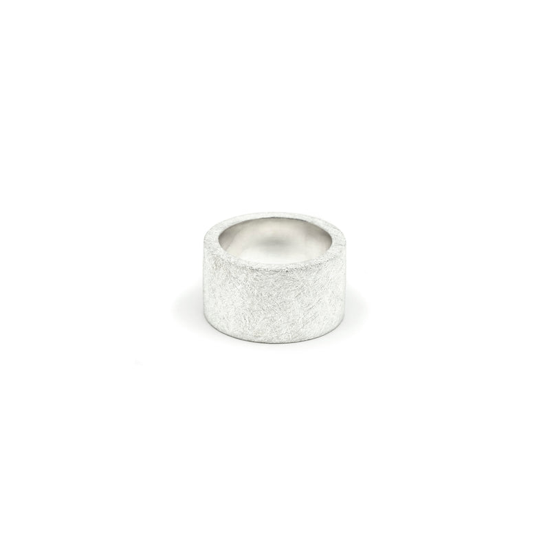 Silver Cylinder Ring