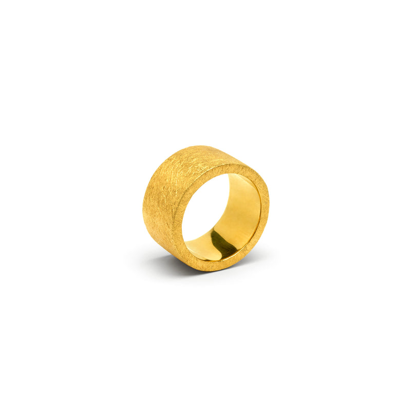 Dureco Gold Cylinder Ring