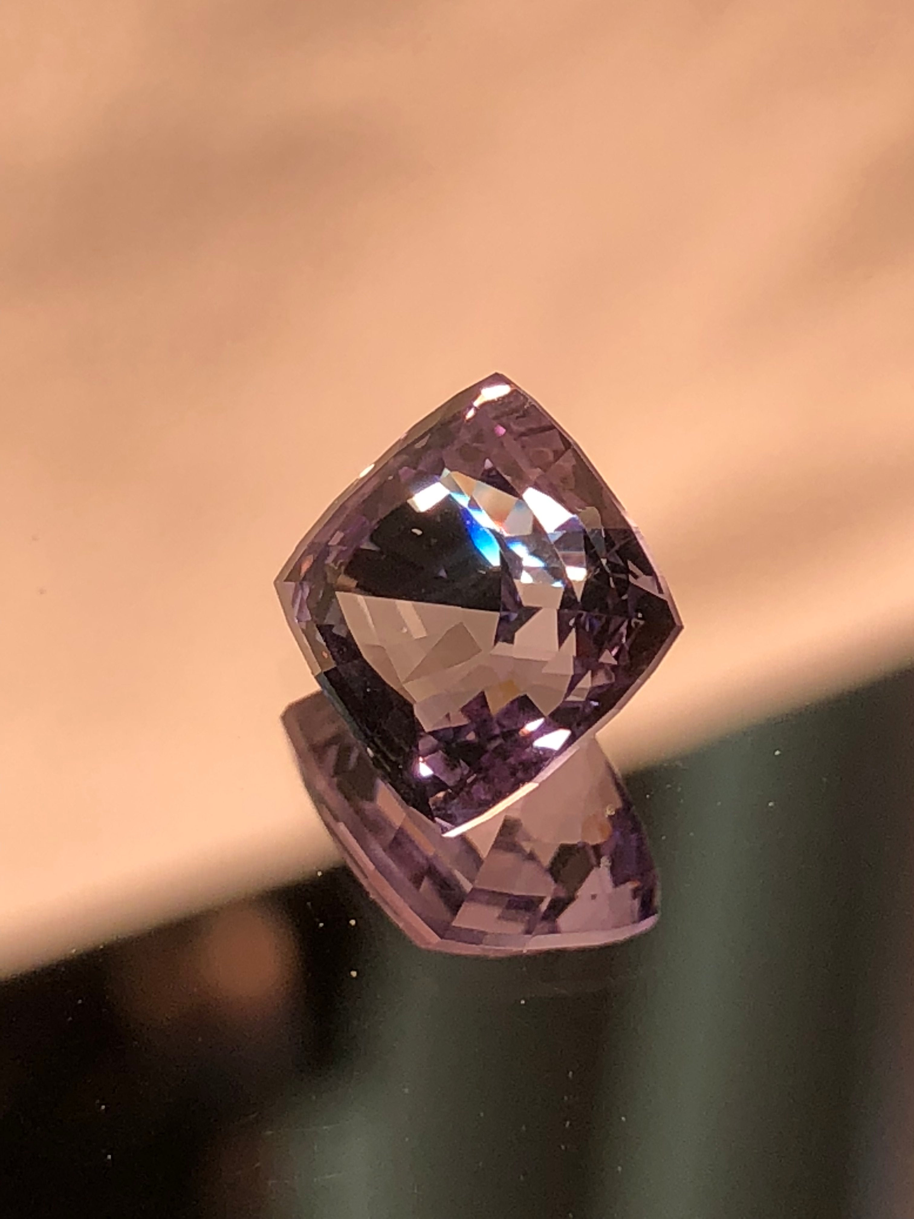 TANZANITE STEPPED SQ.