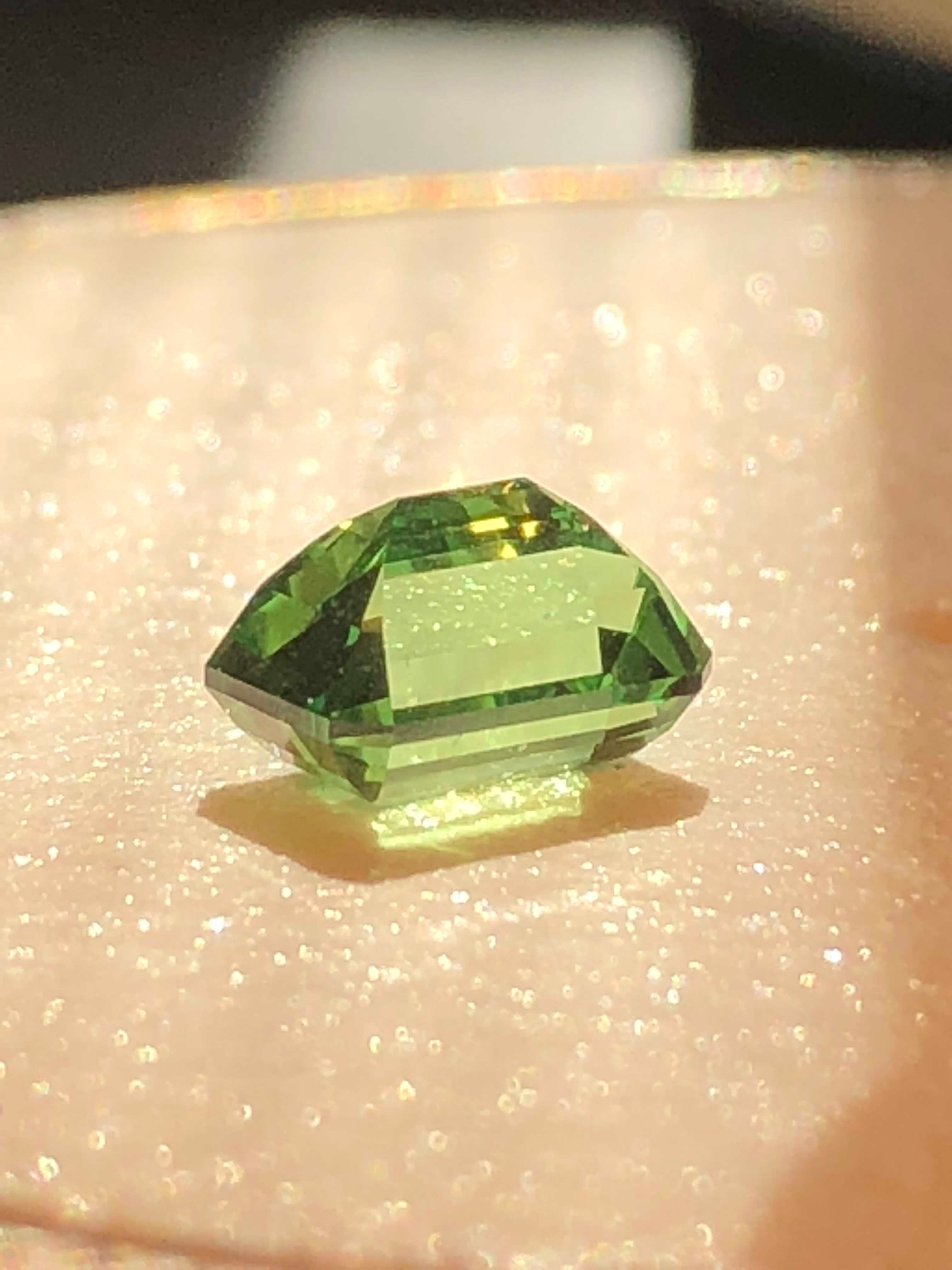TSAVORITE EMERALD CUT