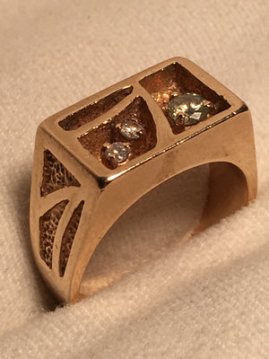 Mosaic Diamond Ring 0.20ctw.
