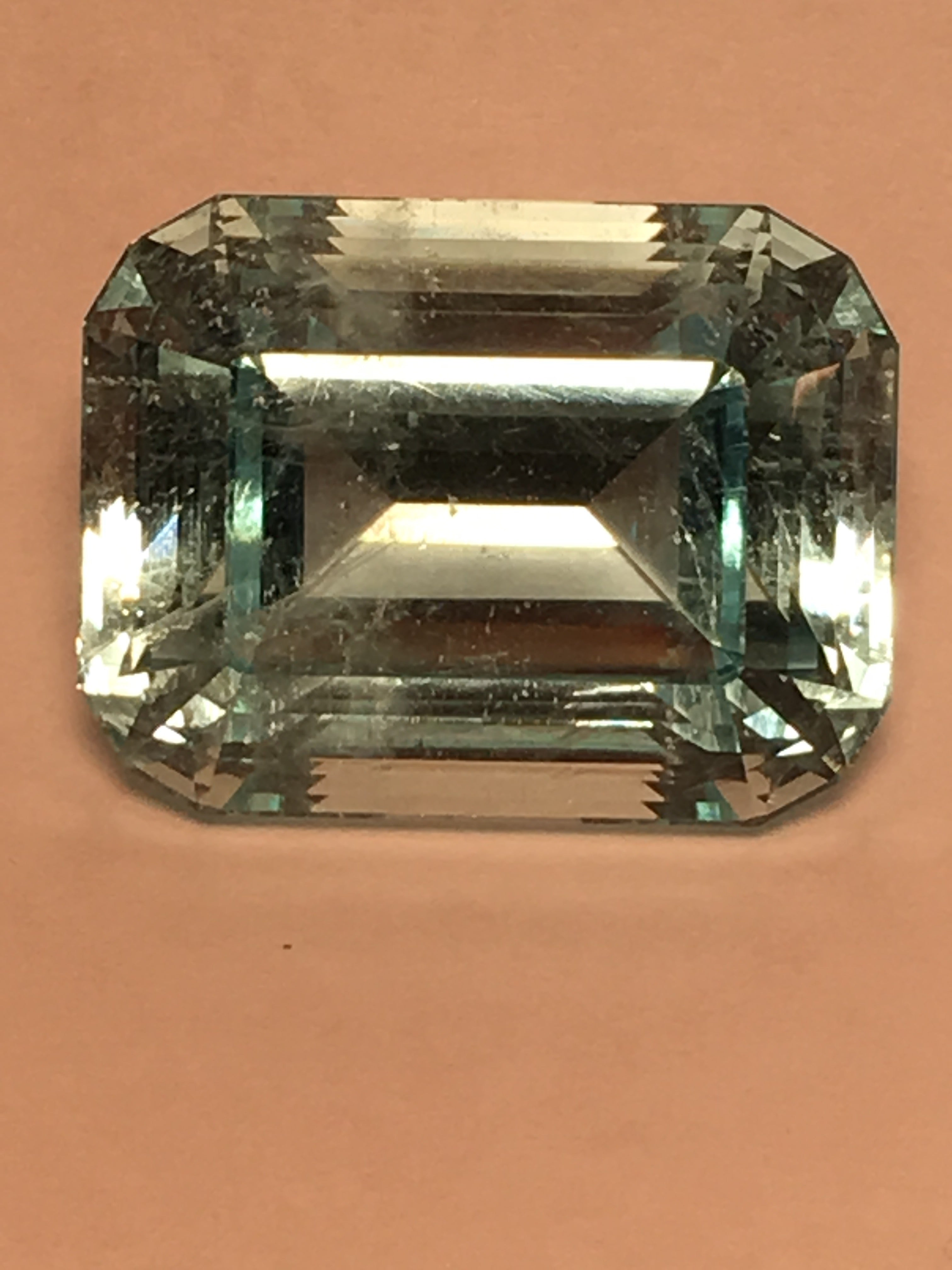 Aquamarine Emerald Cut