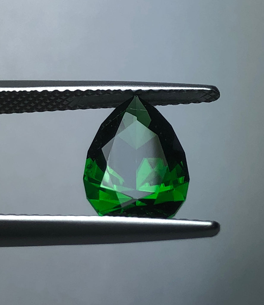 CHROME TOURMALINE PEAR