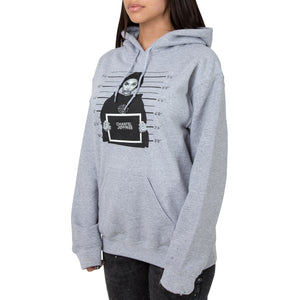 Locked - Pullover Hoodie - Heather Grey