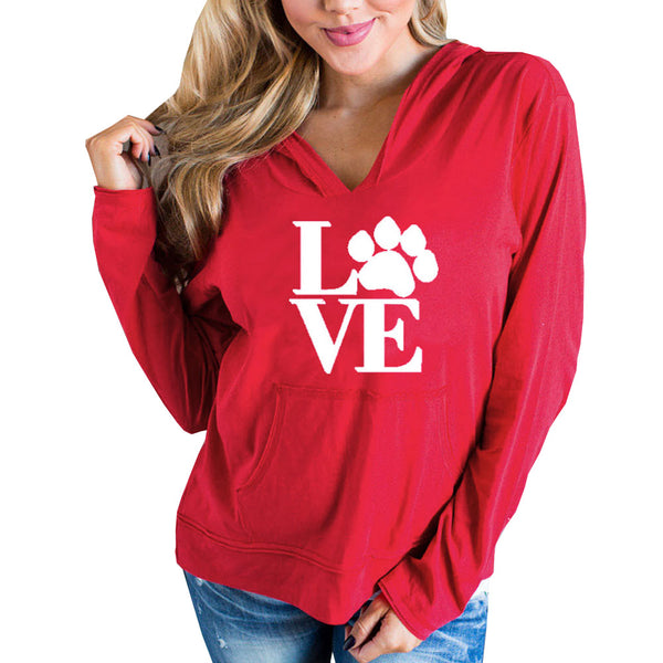 LOVE Letter Paws Hoodie