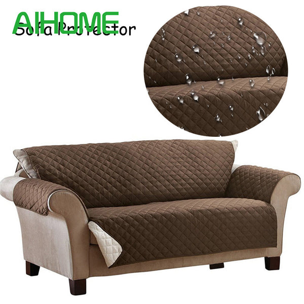 WATERPROOF SUEDE COUCH COVER