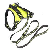 Full Size Nylon Reflective Sport Cat Dog Harness No Pull Outdoor Adventure Oxford Cloth Pet Harness Vest With Handle Full Size