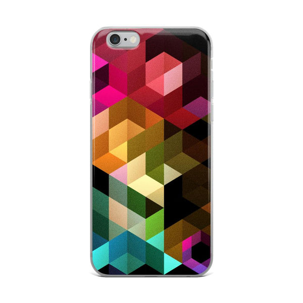 Abstract 16 iPhone Case - Rock Salt Prints Ltd