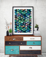 Abstract 1 Art Print - Rock Salt Prints Ltd