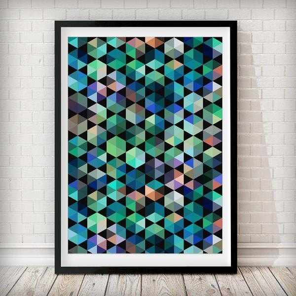 Abstract 1 Art Print - Rock Salt Prints