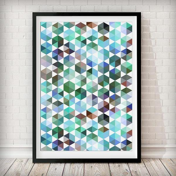 Abstract 2 Art Print - Rock Salt Prints