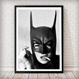 Bat Woman - Fashion Photography Poster - Rock Salt Prints