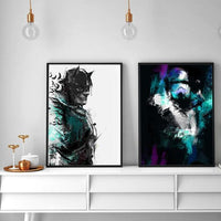 Batman Inspired Art Print - Rock Salt Prints Ltd