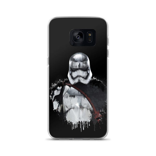 Captain Phasma Black Samsung Case - Rock Salt Prints Ltd