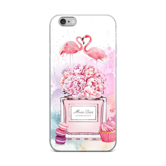 Miss Dior Macaroon iPhone Case - Rock Salt Prints Ltd