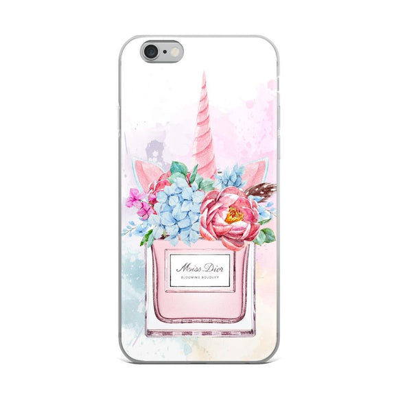 Miss Dior Unicorn iPhone Case - Rock Salt Prints Ltd