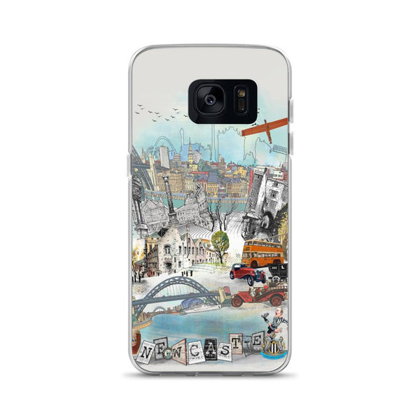 Newcastle Retro City Samsung Phone Case - Rock Salt Prints Ltd
