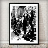 Rebellious Nuns Print Fashion Art Print - Rock Salt Prints