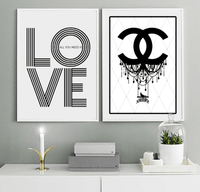 All you need is love - Typography Art Print - Rock Salt Prints Ltd
