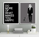 Do More of what makes you happy - Typography Art Print - Rock Salt Prints Ltd