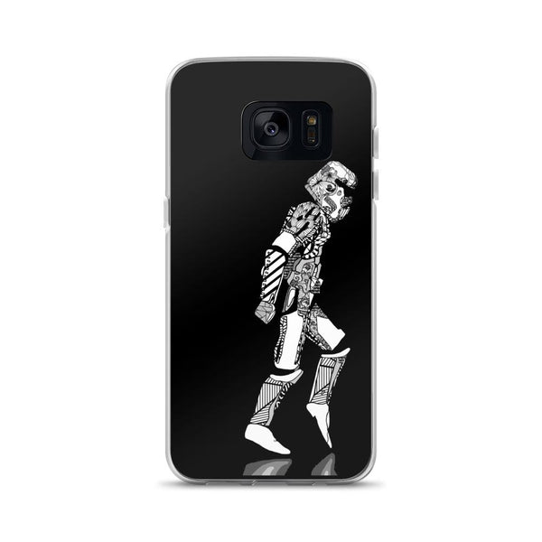 Star Wars Stormtrooper Moonwalker Samsung Case - Rock Salt Prints Ltd