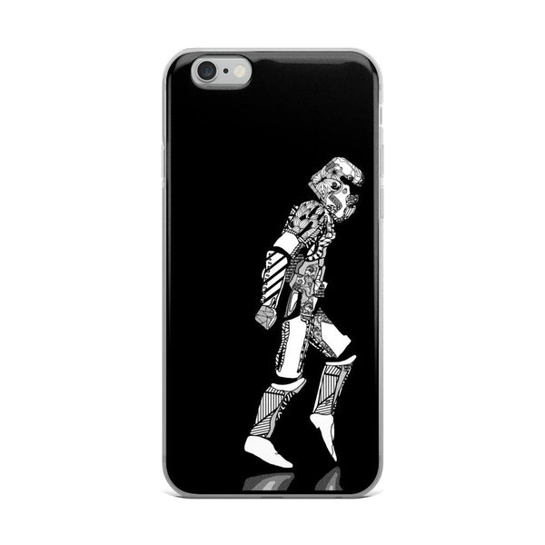 Star Wars Stormtrooper Moonwalker iPhone Case - Rock Salt Prints Ltd