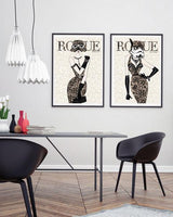 Moulin Rogue Three - Stormtrooper Art Print - Rock Salt Prints Ltd