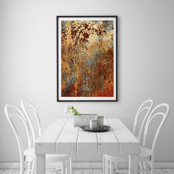 Abstract 10 Art Print - Rock Salt Prints