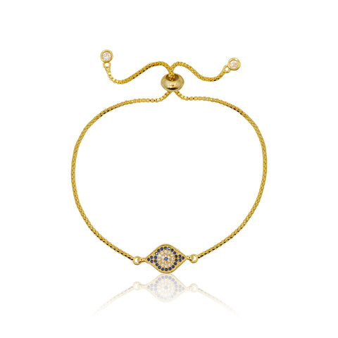 Tree of Life - Adjustable Bracelet Gold