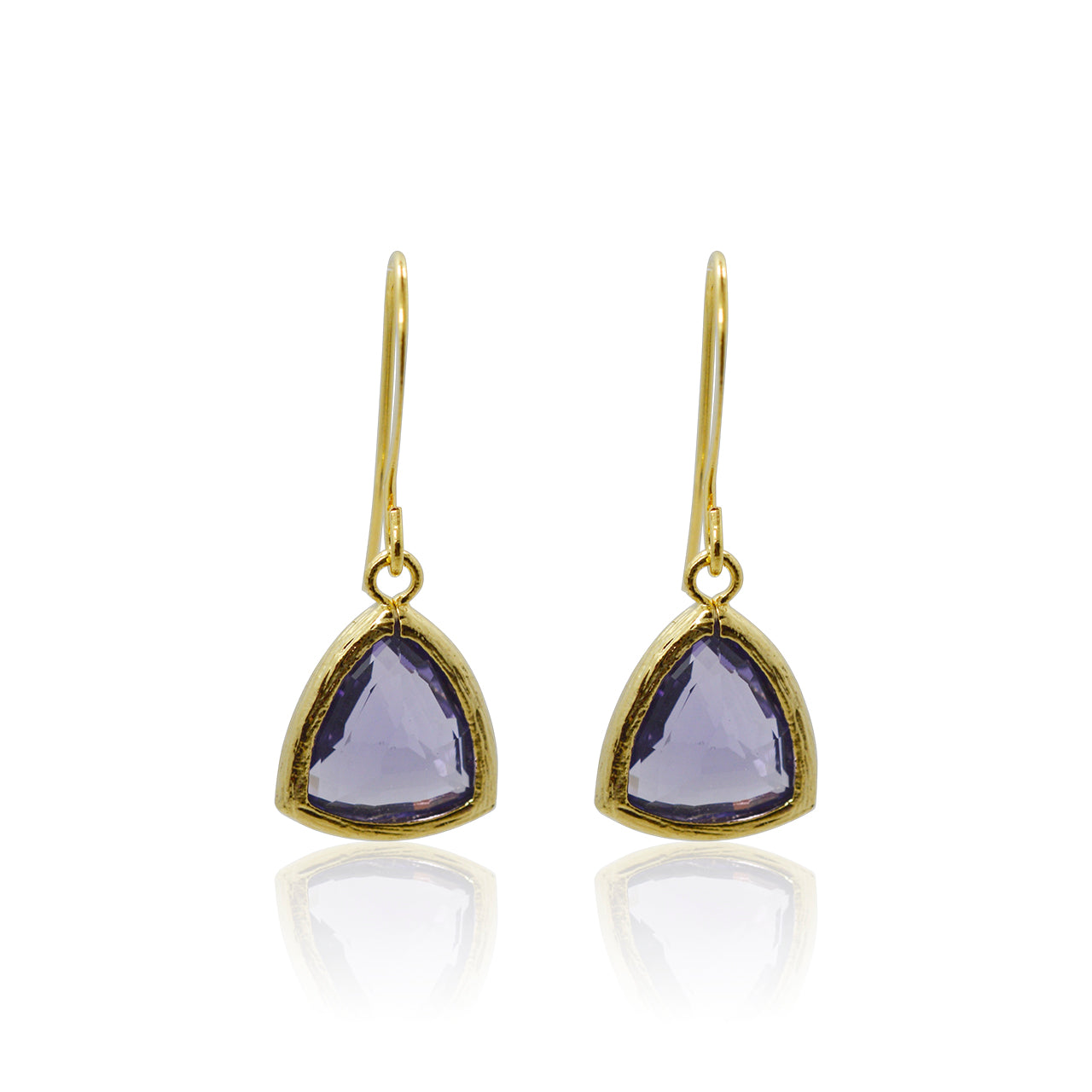 Amethyst Athena Earrings