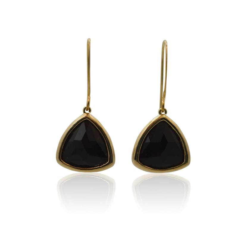Aria - Black & Gold Earrings Earrings