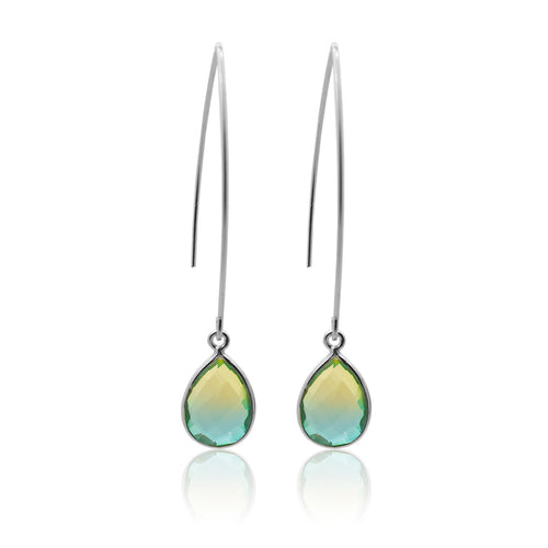Tropical Aura Drop Earrings - Long