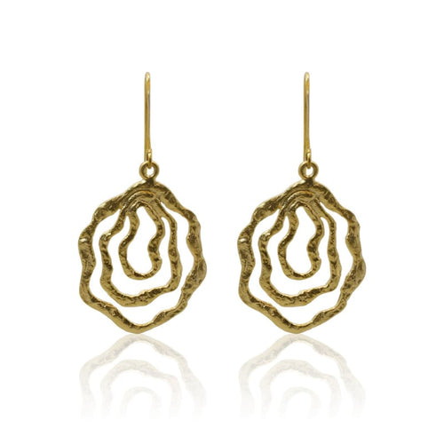 Beachwalker Earrings - Gold earrings