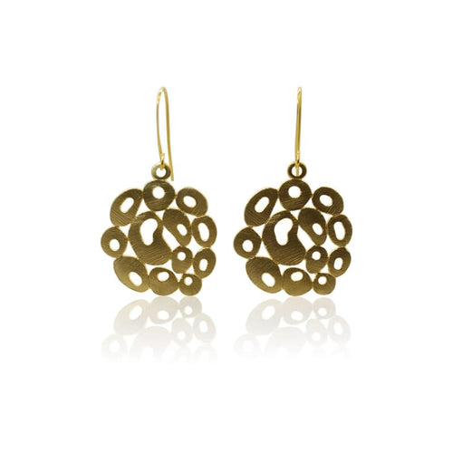Bubbles - Gold Earrings
