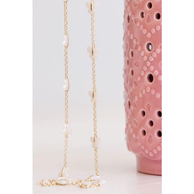 Butterfly Chain Necklace - Gold necklace