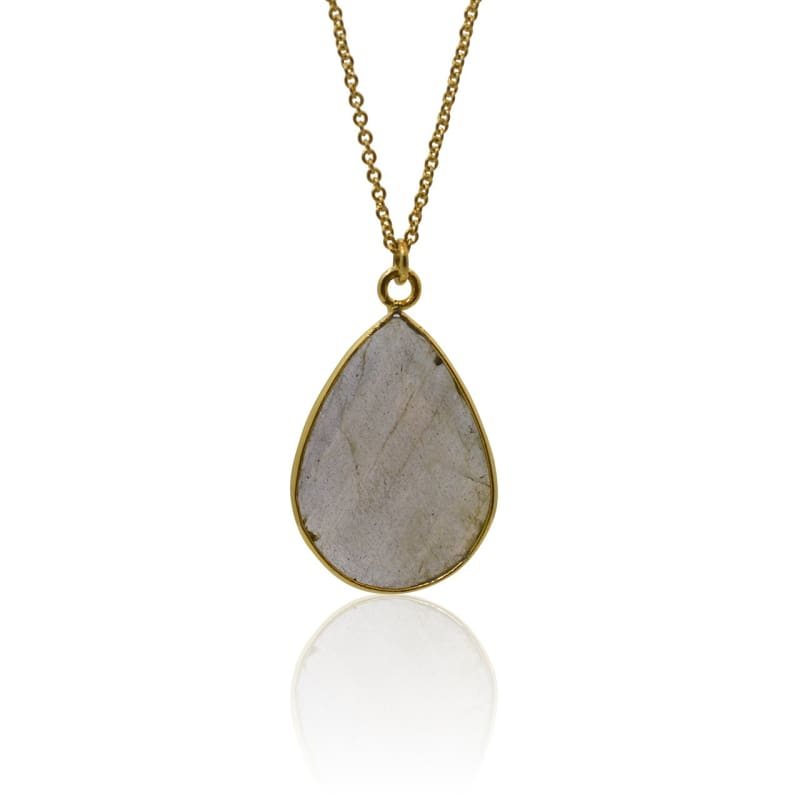 Dew Drop - Labradorite - Magic & Intuition Necklace