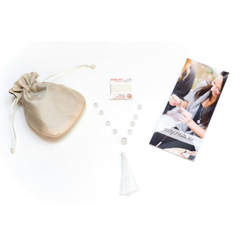 DIY Mala Kit - Rose Quartz - LOVE and HEALING - Heart Chakra
