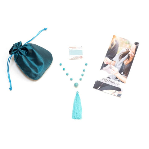 DIY Mala Kit - Labradorite - Magic & Intuition - As Seen in DaySpa Magazine, InStore