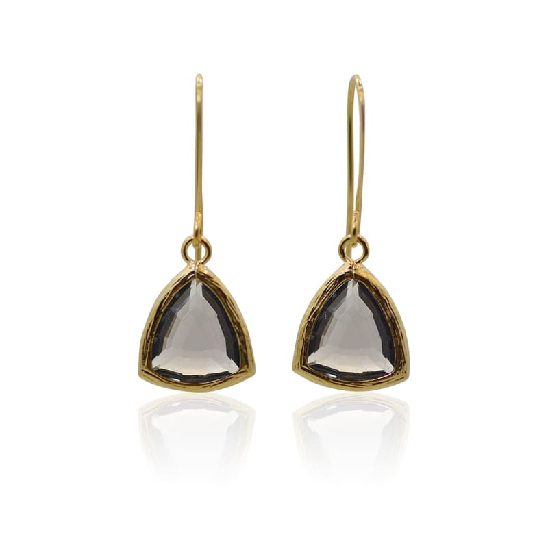 Dusk Athena - Gold Earrings Earrings