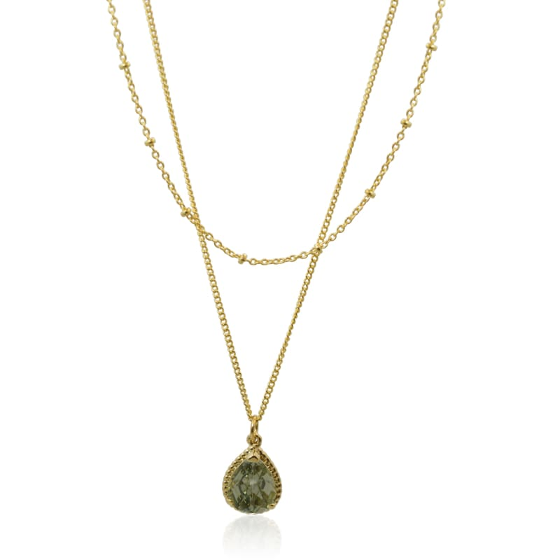 Dusk Exquisite Double Strand Necklace - Gold necklace