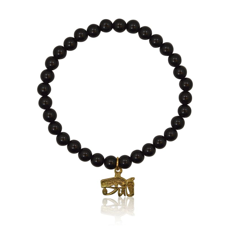 Egyptian Eye Onyx Bracelet Bracelet