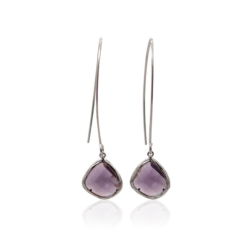 Amethyst Elegant  Earrings