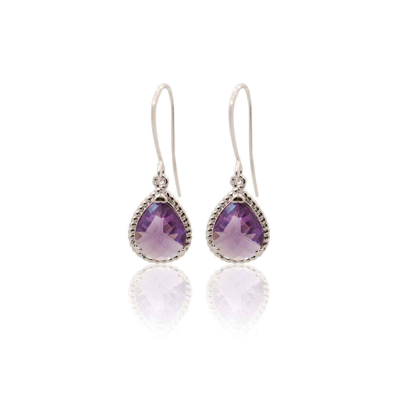 Amethyst Exquisite Earrings