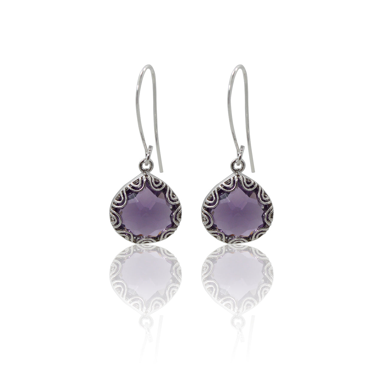 Fancy - Amethyst Earrings