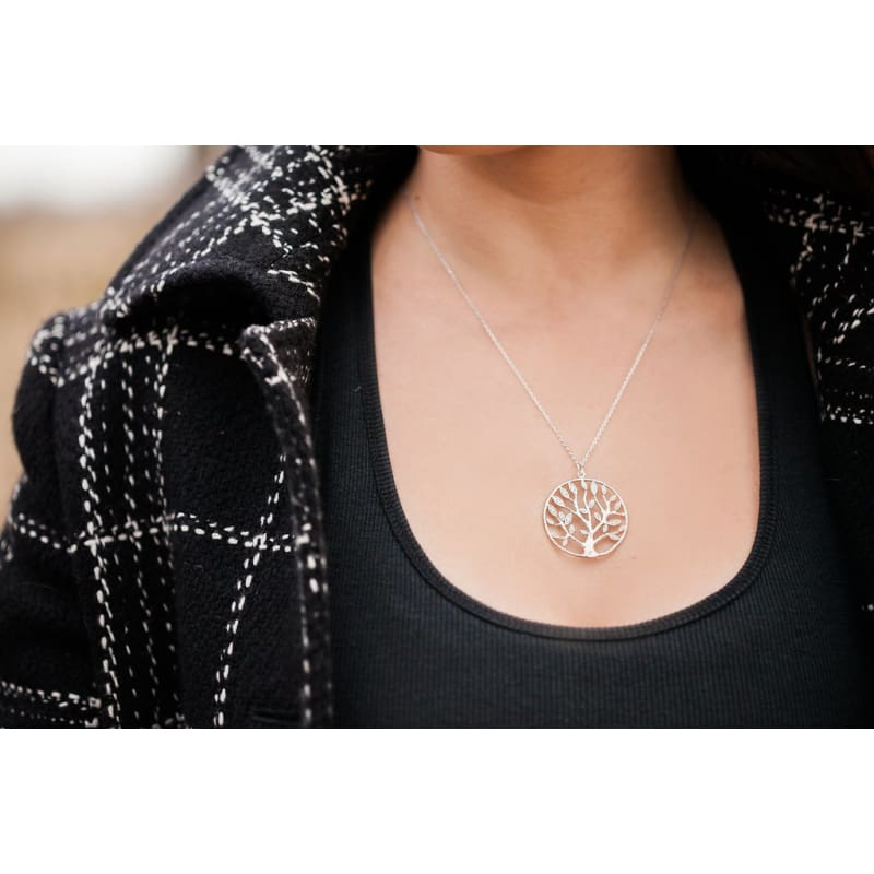 Goddess Crystal Tree Of Life - Editors Best Pick Necklace